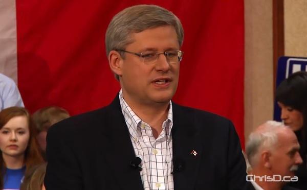 Prime Minister Stephen Harper (CHRISD.CA FILE)
