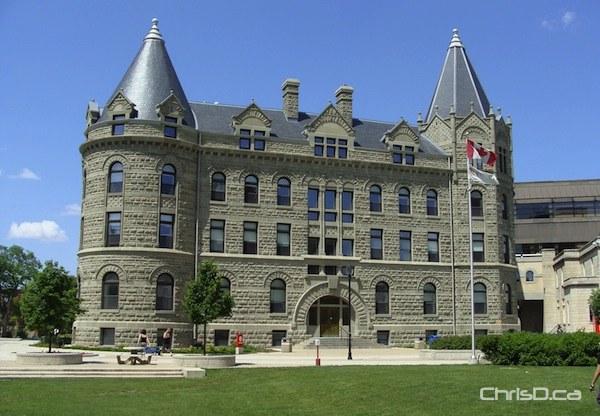 University of Winnipeg's Wesley Hall. (HANDOUT)