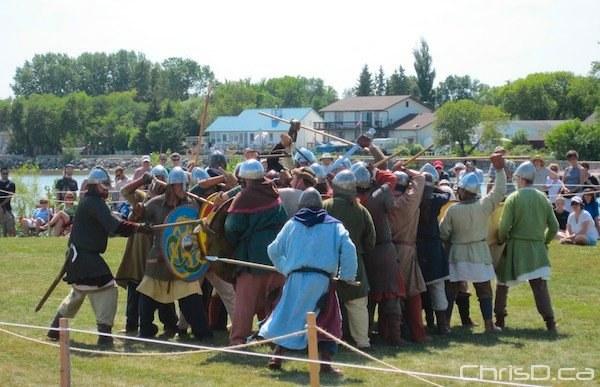 Gimli Icelandic Festival (CHRISD.CA FILE)