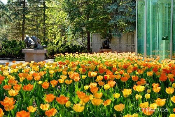 Leo Mol Sculpture Garden at Assiniboine Park