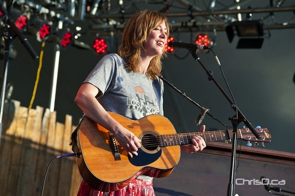 British singer-songwriter Beth Orton performs at the Winnipeg Folk Festival on Friday, July 6, 2012. (TED GRANT / CHRISD.CA)