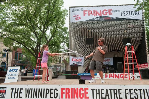 Entertainment at the Winnipeg Fringe Theatre Festival on Wednesday, July 18, 2012. (TED GRANT / CHRISD.CA)