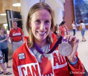Olympic silver medallist Janine Hanson