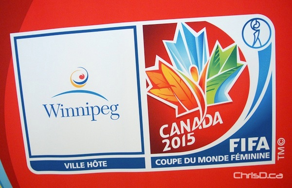 Emblem for the FIFA Women's World Cup Canada 2015 (STAN MILOSEVIC / CHRISD.CA)