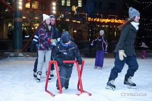 The Forks - Skating