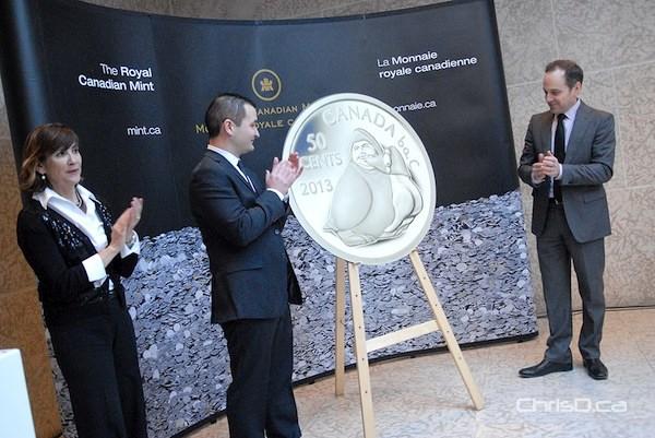 Inuit Art Gold Coin