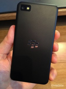 BlackBerry Z10 Rear