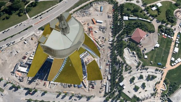 Canadian Museum for Human Rights - Google Earth