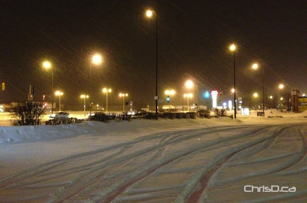 March Blizzard - Snow