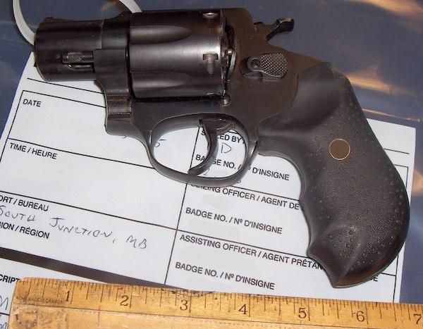 Seized Gun - South Junction Border