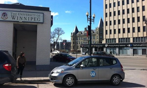 University of Winnipeg Car Co-op