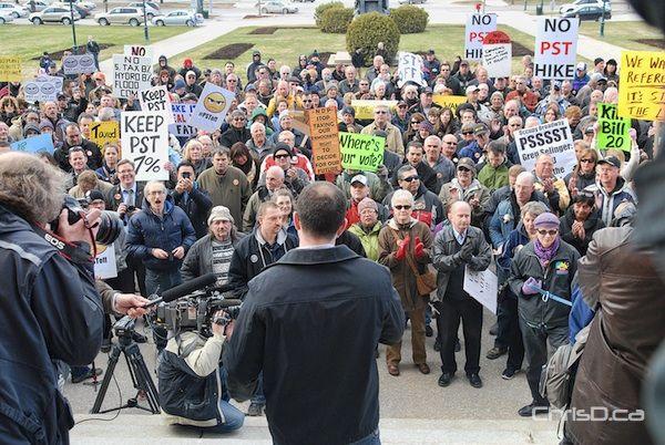Colin Craig - Anti-PST Hike Rally