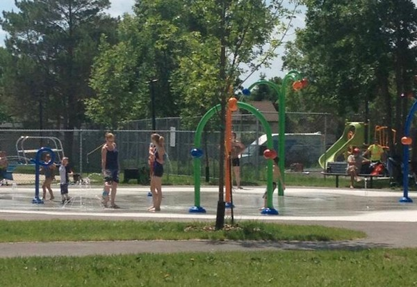 Charleswood Splash Pad