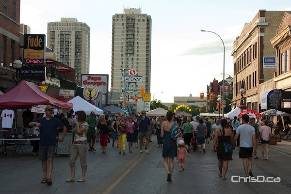 Osborne Village - Canada Day