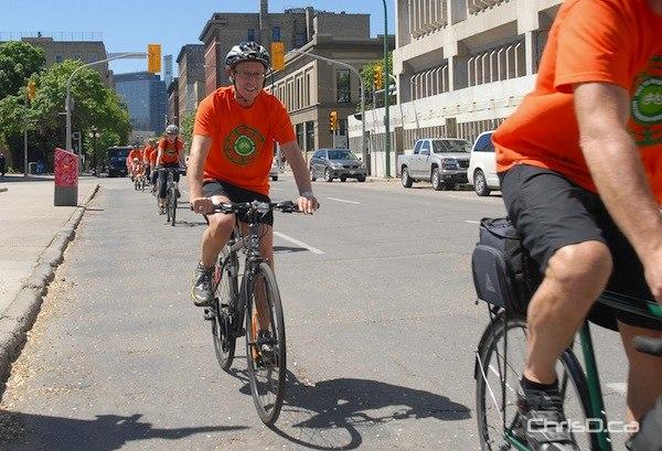 Sam Katz - Bike to Work Day