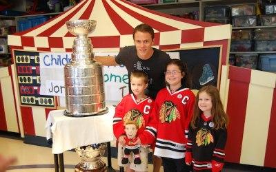 Jonathan Toews Tours Stanley Cup Around Winnipeg