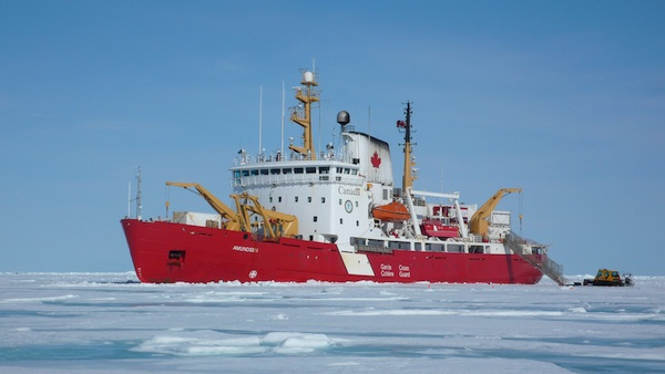 CCGS Amundsen Icebreaker
