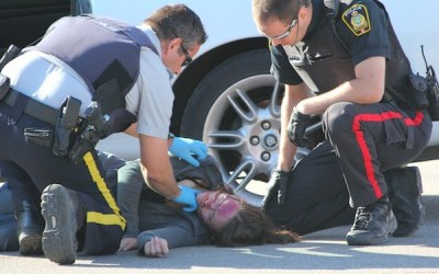 Mock Crash an Eye-Opener for Teen Drivers