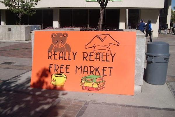 Really, Really Free Market