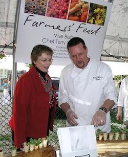 Chef Terry Gereta - Mise