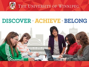 University of Winnipeg - Discover. Achieve. Belong