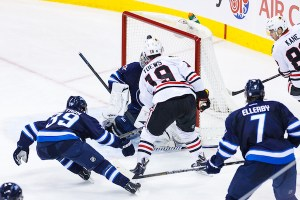 Jonathan Toews - Chicago Blackhawks - Winnipeg Jets