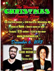 The Winnipeg Christmas Comedy Show
