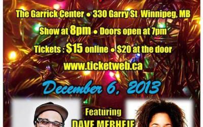Dave Merheje Headlining 'Winnipeg Christmas Comedy Show'