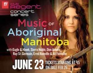 Music of Aboriginal Manitoba