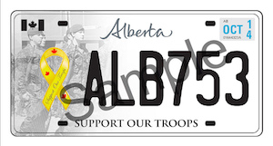 Alberta - Support Our Troops