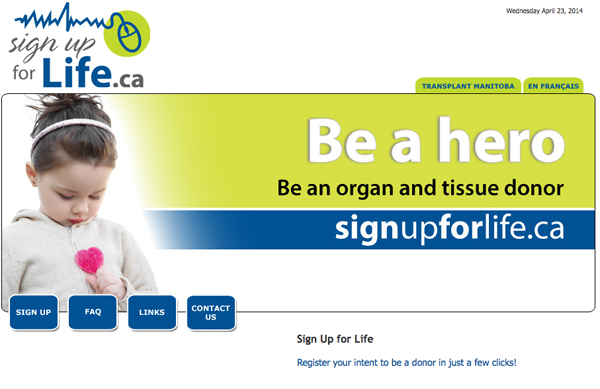 Sign Up for LIfe
