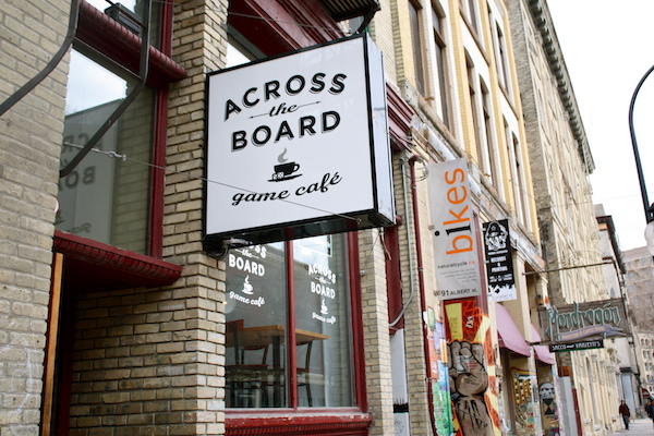 Across the Board Game Café