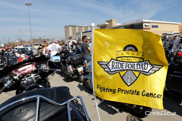 Manitoba Motorcycle Ride for Dad
