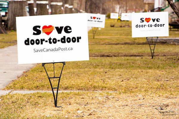 Save Door-to-Door Mail Delivery
