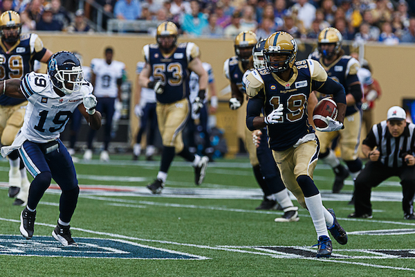 Aaron Kelly - Winnipeg Blue Bombers