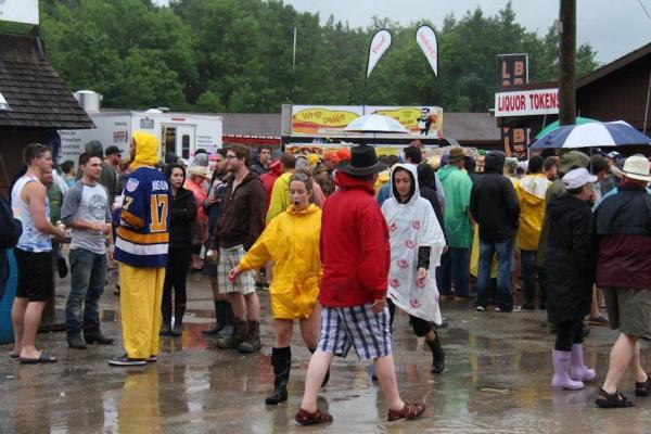 Dauphin's Countryfest - Rain