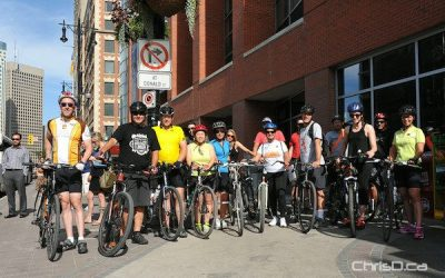 Biking & Beer in Downtown Winnipeg