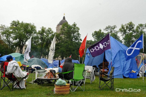 Memorial Park Protest