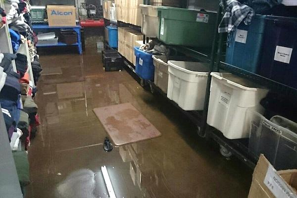 Siloam Mission Flood