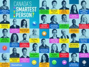 Canada's Smartest Person Infographic