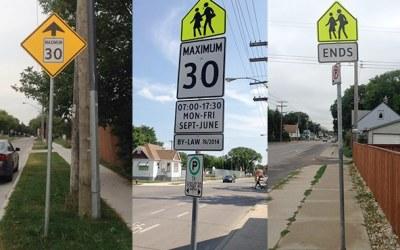 Reduced Speed in School Zones Back in Effect September 1