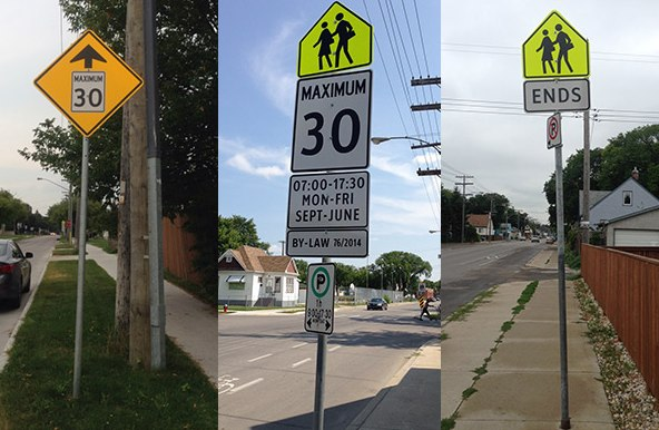 School Zone Speed Limits