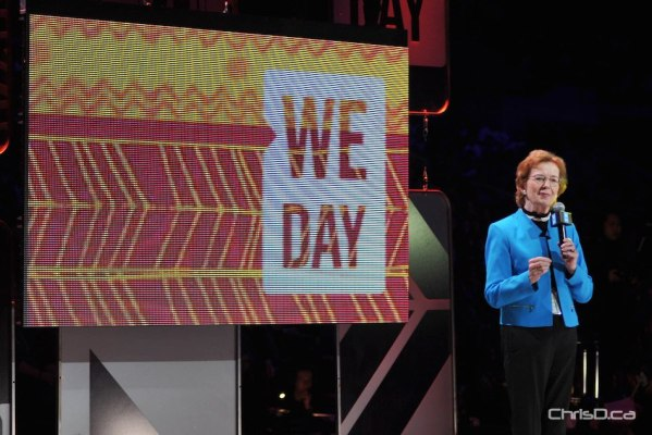 Mary Robinson - We Day