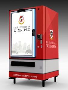 University of Winnipeg Vending Machine