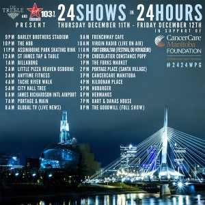 The Treble - 24 Shows in 24 Hours