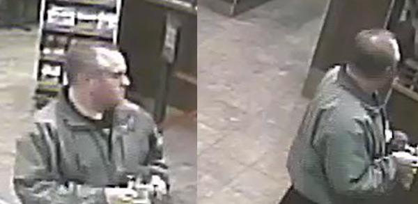 Tim Hortons Suspect