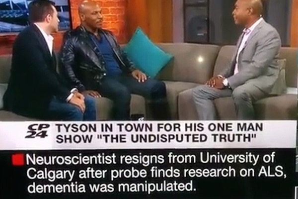 Mike Tyson - CP24