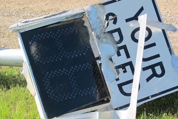 Speed Reader Sign