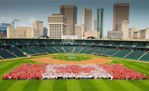 Canada Day Living Flag 2015