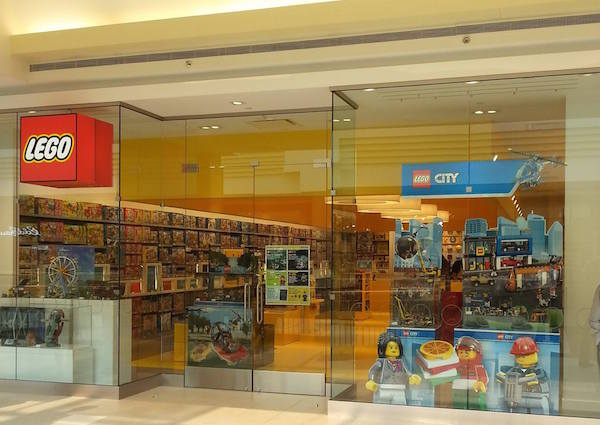 The new LEGO Store on the second level of Polo Park Shopping Centre opened on Friday. (FACEBOOK)